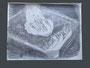 """o.T. aus der Reihe """"Bildersatz"""", 2013, Blestift auf Tonpapier, 48 cm x 64 cm"""