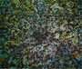 "Aus dem Zyklus ""Yoga"", 1994, Öl auf Leinwand, 170x200 cm"