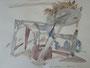 """""""Парк культуры и отдыха"""", 2007, бумага, граф. карандаш, акварель, 42x59,5 cm"""