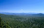 Ein weiter Blick über Oregons Cascade Range