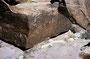 Petrified Forest NP: Auch hier haben die Anasazi gelebt - 'Newspaper Rock'
