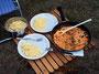Sahnepaprikagemüse mit Couscous