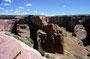 Das westl. Ende wird von den Navajos bewirtschaftet (Hinein kommt man nur mit Navajo-Erlaubniss und nur mit Führer)
