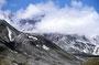 Mount St. Helens: der nach Norden offene Krater