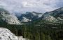 Nun geht's die Tioga Road Richtung Yosemite NP