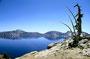 Wieder in den Bergen: Crater Lake NP - Caldera des Vulkans Mount Mazama ...