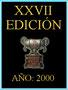 XXVII Edición.