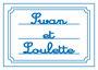 Logo Swan et Loulette