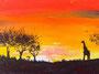 Afrika Acryl 20cm x 30 cm