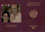 "Menu mariage ""Passeport"" - Extérieur"
