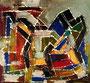 Ohne Titel - 2008 - Acryl auf Papier - 26,3 x 28,3 cm