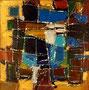 Ohne Titel - 2008 - Acryl auf Papier - 32,5 x 32,3 cm