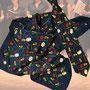14.) Chorschal + Chorkrawatte im Set mit Instrumenten (auch einzeln lieferbar) - Feld Textil GmbH aus Krefeld - https://www.krawatten-tuecher-schals-werbetextilien.de/