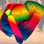 "13.) Chorschal + Chorkrawatte im Set ""Regenbogen"" (auch einzeln lieferbar) - Feld Textil GmbH aus Krefeld - https://www.krawatten-tuecher-schals-werbetextilien.de/"