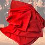 4.) Chorschal mit Farbverlauf Farbe rot - Feld Textil GmbH aus Krefeld - https://www.krawatten-tuecher-schals-werbetextilien.de/