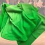 9.) Chorschal mit Farbverlauf Farbe grün - Feld Textil GmbH aus Krefeld - https://www.krawatten-tuecher-schals-werbetextilien.de/
