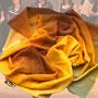 12.) Chorschal mit Farbverlauf Farbe gold - Feld Textil GmbH aus Krefeld - https://www.krawatten-tuecher-schals-werbetextilien.de/