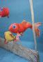 Fische, Textil und Pappel 2015