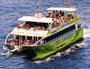 Auf diesem Boot wurde der Geburtstag von Robert gefeiert