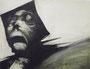 Etude pour les évèques, 1980 (gouache, 65 x 50 cm, coll. part. RP)