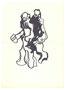 Silhouettes doubles, env. 1980 (feutre, 20.5 x 15 cm, coll. part. MR)
