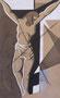 Jésus meurt sur la croix, env. 1946 (gouache, 13.5 x 25.5 cm, coll. part. MR)