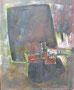 Abstraction marron, env. 1960 (huile sur carton, 65 x 50 cm, coll. part. MR)