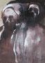 La mort, env. 1980 (gouache sur carton, 40 x 29  cm, coll .part. MR)