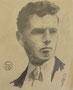 Autoportrait, env. 1949 (dessin, 14 x 17 cm coll. part. MR)