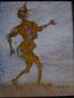 Le clown Istiti, env. 2000 (25 x 20.5 cm., coll. part. NB)