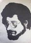 Pierre Overney, 1972 (gouache sur carton, 119 x 80 cm, coll. part. MR)