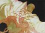 Abstraction, env. 1970 (gouache, 56 x 41 cm, coll. part. MR)