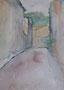 Anduze, env. 2000 (aquarelle, coll. part. MR)