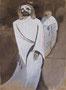 Jésus est condamné à mort, env. 1946 (gouache, 18 x 29 cm, coll. part. MR)