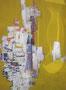 Gouache Abstraite jaune, env. 1960 (gouache, 65 x 50 cm, coll. part. DJP)