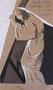 Jésus est chargé de sa croix, env. 1946 (gouache, 13.5 x 25 cm,  coll. part. MR)