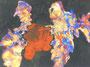 Abstraction multicolore, env. 1970 (gouache, 56 x 41 cm, coll. part. G)