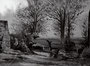 Paysage, pont , (noir/blanc), env. 1949 (aquarelle, coll. part. HMC)