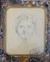 Portrait Tourgueniev ?, env. 1990 (dessin, 12 x 9 cm, coll. part. MR)