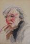 Portrait esquisse, env. 2000 (croquis, coll. part. MR)