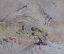 Etude d'après Cézanne, env. 1960 (aquarelle, coll. part. MR)
