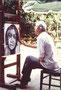 Portrait, env. 1980 (gouache, 65 x 50 cm, coll. part.)