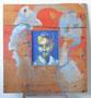 Portrait, env. 1993 (gouache entourée de bois, 55 x 60 cm, coll. part. MR)