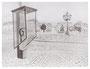 30,0 x 39,3 cm, Tusche auf Papier, 2004
