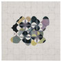 o.T., 50 x 50 cm, Bleistift und Öl auf Baumwolle, 2013