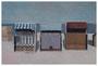 o.T, 40 x 60 cm, Öl auf Faserplatte, 2016