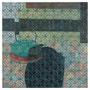 o.T., 50 x 50 cm, Öl und Lackstift auf Baumwolle, 2018