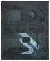 o.T., 50 x 40 cm, Öl auf Baumwolle, 2014