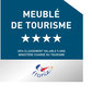 Les gîtes du Domaine de Joreau sont classés en meublé de tourisme afin de vous donner une idée des services proposés