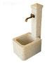Fontaine 6: Dimensions en cm: 100x55x37